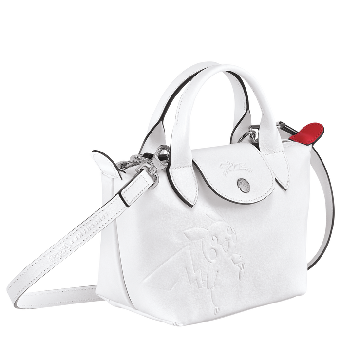 トップハンドルバッグ XS, ホワイト - ビュー 2: 3 - 拡大