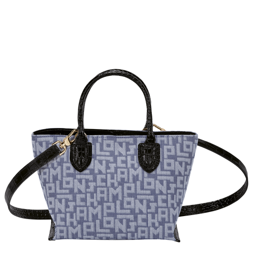 Top handle bag S, Blue - View 3 of 3 -