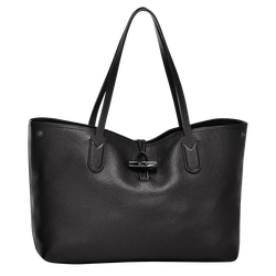 Essential Tote bag M, 001 Black, hi-res