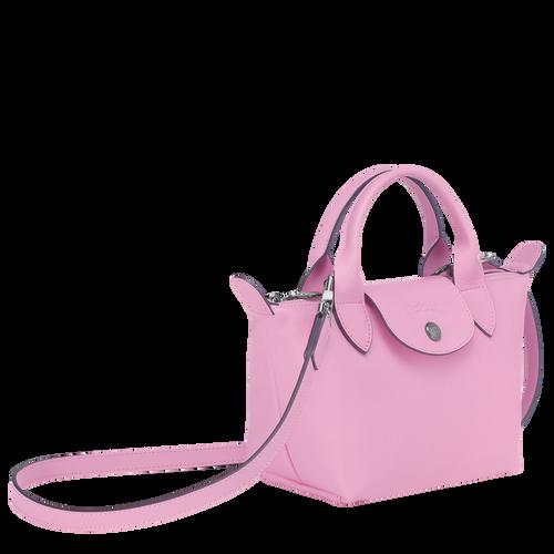 Mini top-handle bag, Pink, hi-res - View 2 of 3