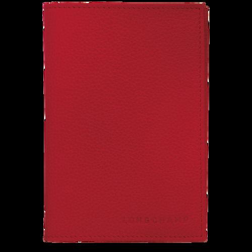 Étui passeport, Rouge - Vue 1 de 2 -