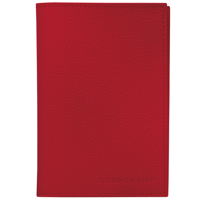 Étui passeport, Rouge - Vue 1 de 2 - agrandir le zoom