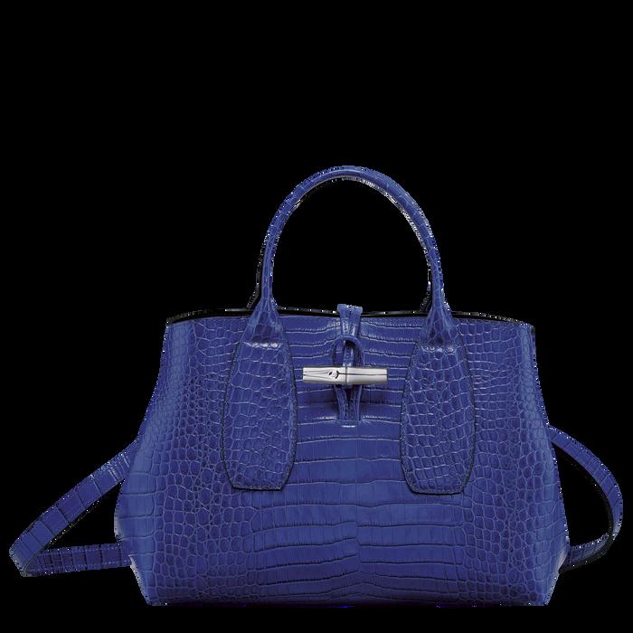 Roseau Top handle bag M, Blue