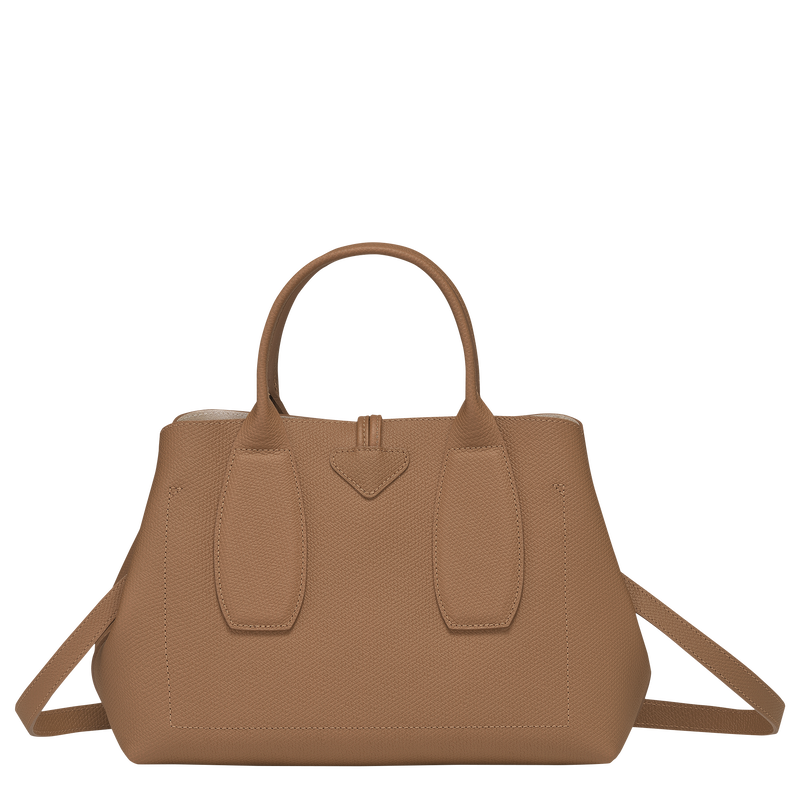 Top handle bag M, Natural - View 4 of  5 - zoom in
