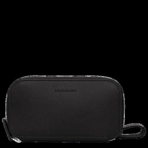 Long zip around wallet, Black, hi-res - View 1 of 3