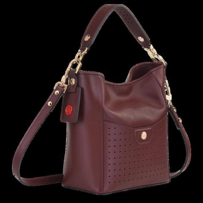 Sac porté épaule S Mademoiselle Longchamp Bordeaux (10080883009) |  Longchamp FR