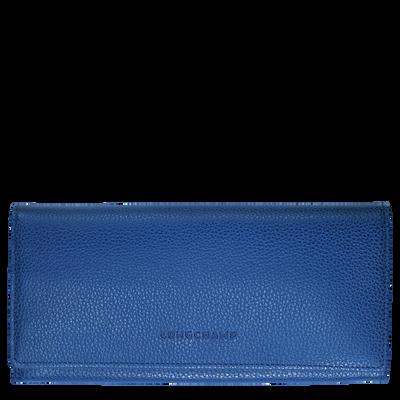 Long continental wallet Le Foulonné Sapphire (L3044021280 ...