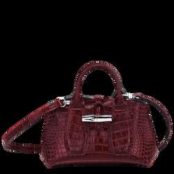 Top handle bag XS, Burgundy