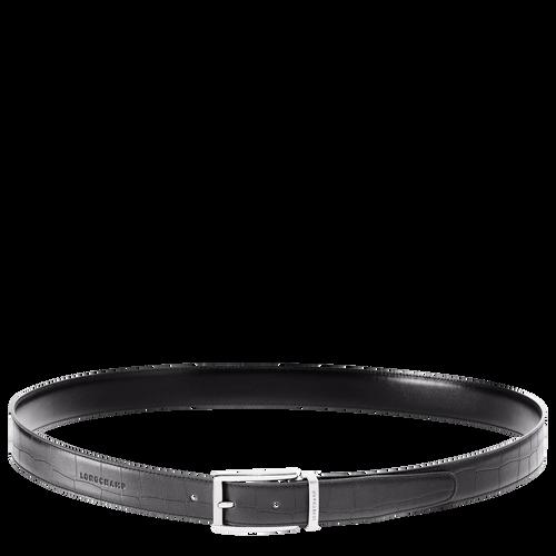 Men's belt, Black/Ebony - View 1 of  2 -