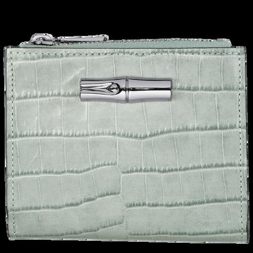Roseau Compact wallet, Jade