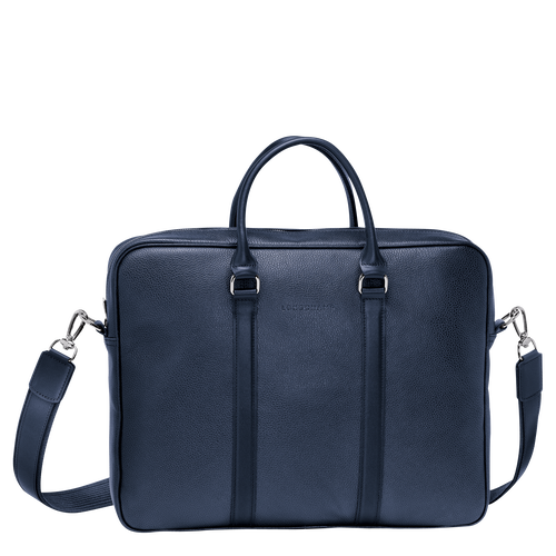 Le Foulonné Briefcase S, Navy