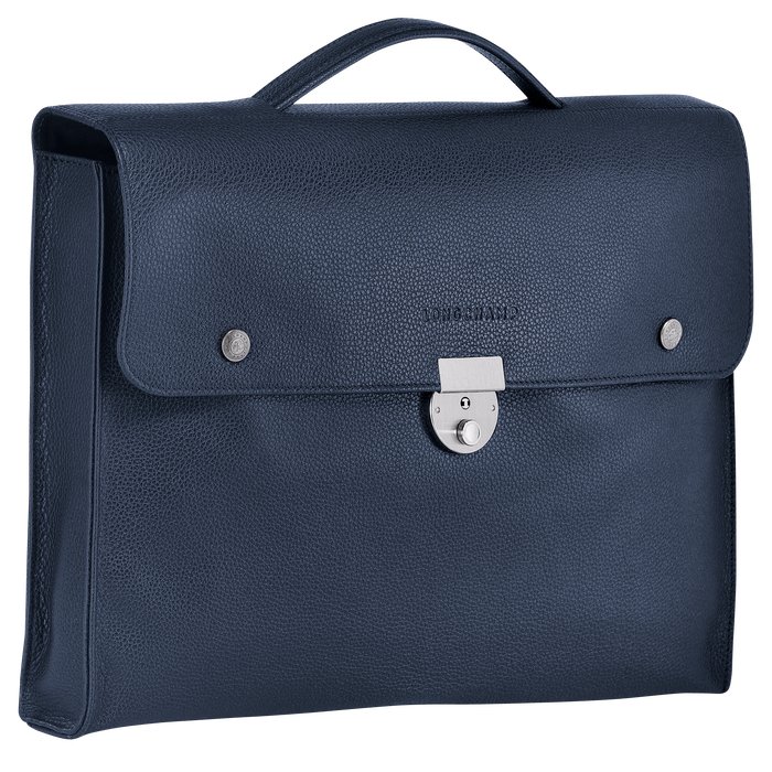 Briefcase S, Navy - View 2 of 3 - zoom in