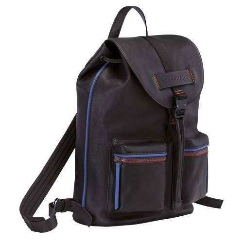 Longchamp 3D Backpack M, Black