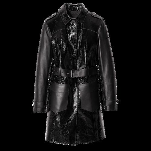 Vue 1 de Manteau, Noir, hi-res