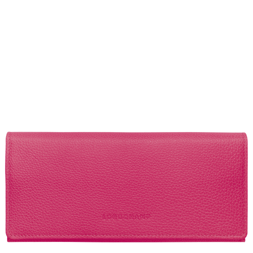 Long continental wallet, Pink/Silver - View 1 of  3 -