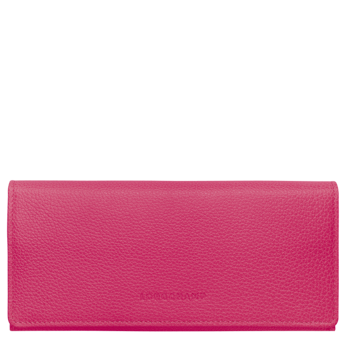 Long continental wallet, Pink/Silver - View 1 of  3 - zoom in