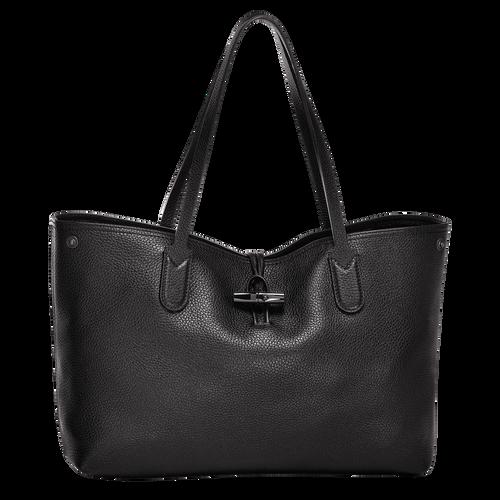 Essential Tote bag M, Black, hi-res - View 1 of 3