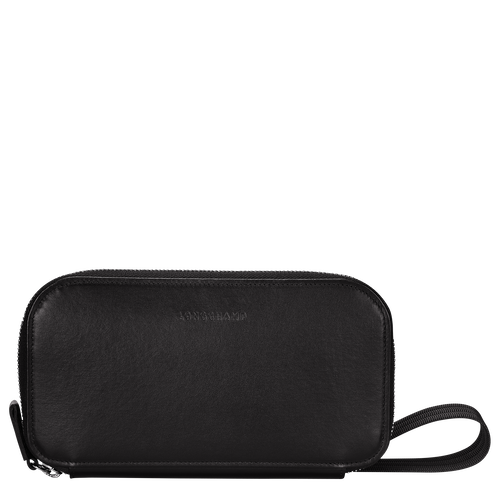Long zip around wallet, Black, hi-res - View 1 of 3
