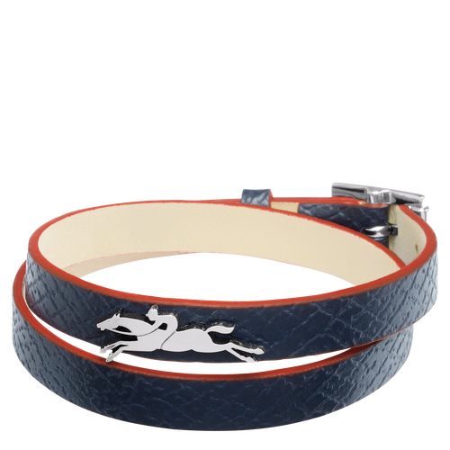 Vue 1 de Bracelet double tours, Navy, hi-res