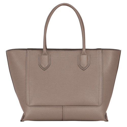 Top handle bag L, Taupe - View 3 of 4 -