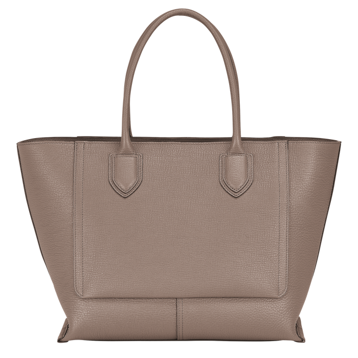 Top handle bag L, Taupe - View 3 of 4 - zoom in