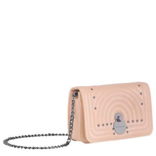 View 2 of Wallet on chain, Antique Pink, hi-res