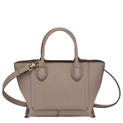 Top handle bag S, Taupe - View 3 of  4.0 -