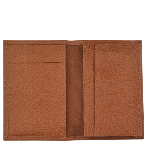Card holder, Caramel - View 2 of  2 -