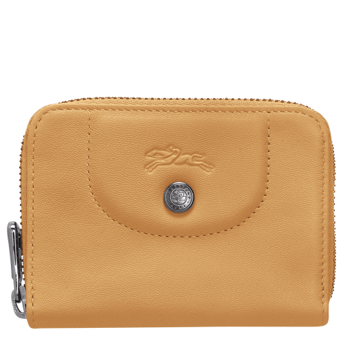 Zipped card holder, Honey - View 1 of  2 -