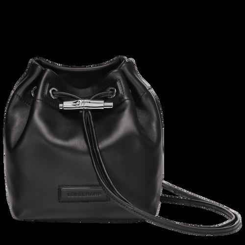 Mini bucket bag, Black, hi-res - View 1 of 3