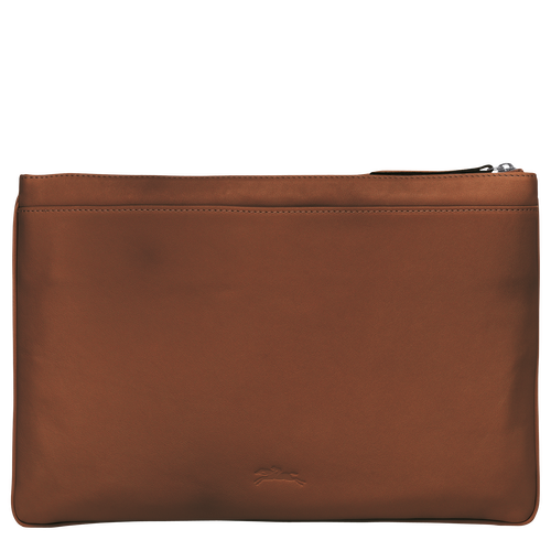 Large Pouch, Cognac, hi-res - View 3 of 3