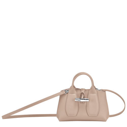 Top handle bag S, Sand, hi-res - View 1 of 4
