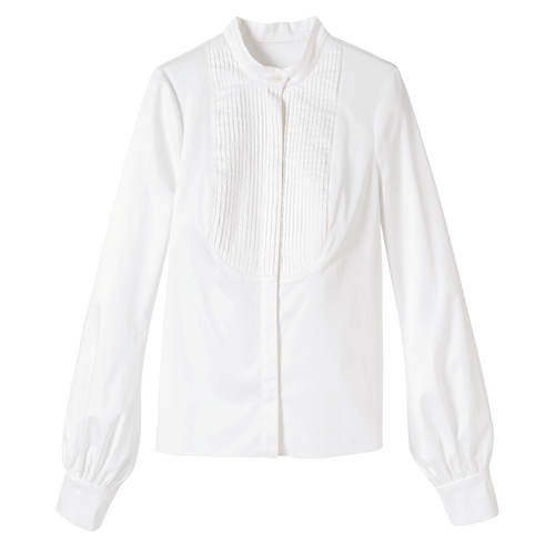 Blouse, White, hi-res - View 1 of 1
