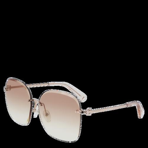 Sunglasses, Rose Gold, hi-res - View 2 of 2