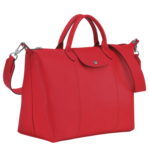 Top handle bag L, Red - View 2 of  8.0 -