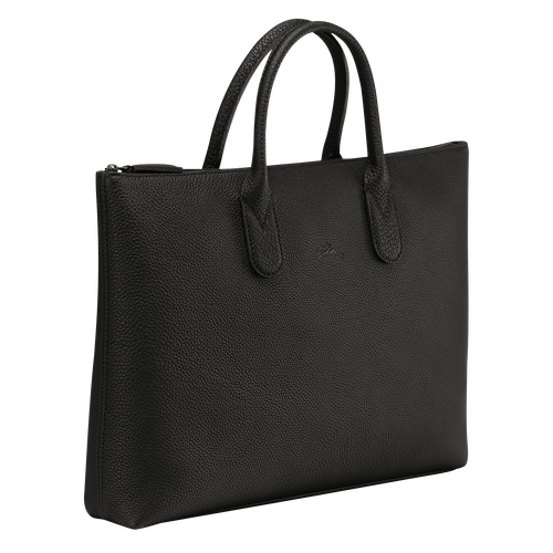 Briefcase S, Black/Ebony - View 2 of  3 -
