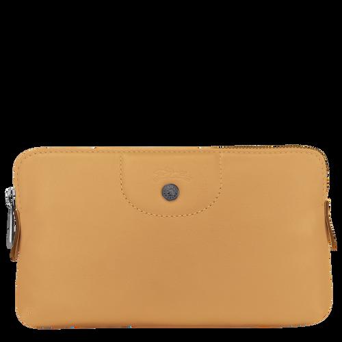 Pouch Le Pliage Cuir Honey (L4549757P15) | Longchamp DK