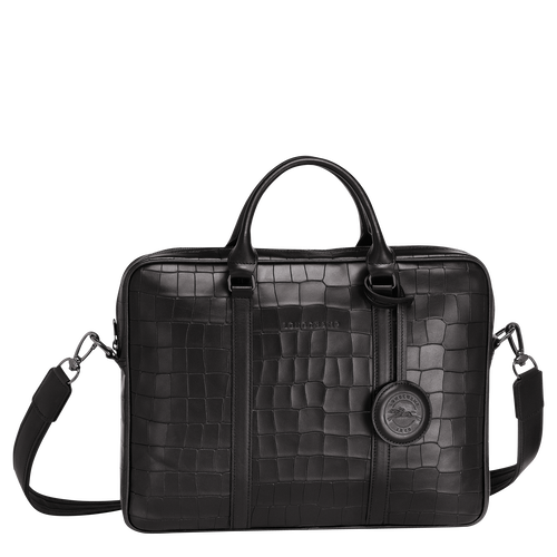 Briefcase XS, Black, hi-res - View 1 of 3