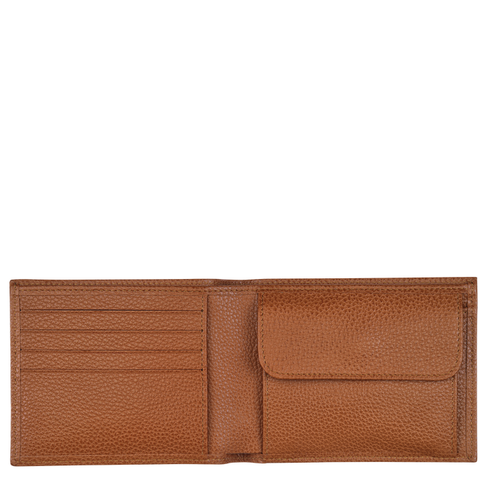 Le Foulonné Wallet, Caramel