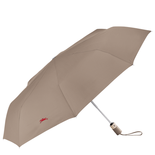 Retractable umbrella, Brown, hi-res - View 1 of 1