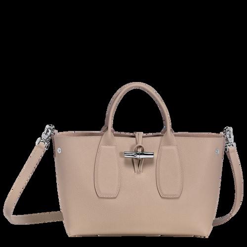 Top handle bag M, Sand, hi-res - View 2 of 5