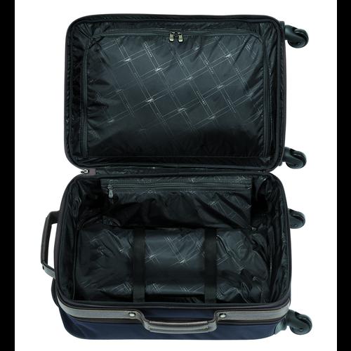 Valise cabine, Bleu - Vue 3 de 3 -