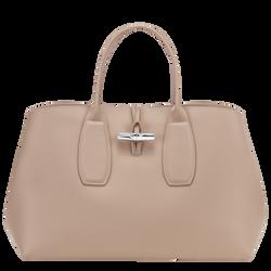 Top handle bag L, Sand, hi-res