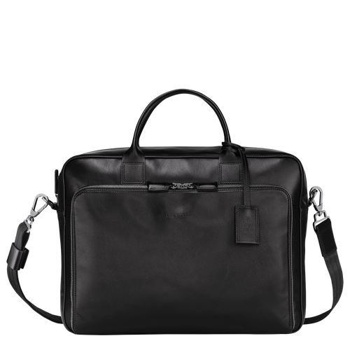 Briefcase L, Black/Ebony - View 1 of 3 -