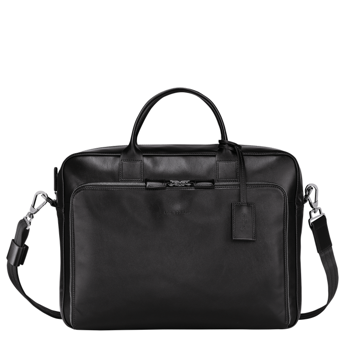 Briefcase L, Black/Ebony - View 1 of 3 - zoom in
