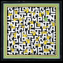 Silk scarf 50x50