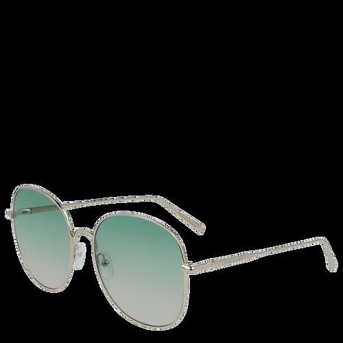 View 3 of Sunglasses, Gold Green, hi-res