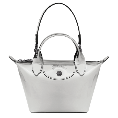 Le Pliage Printemps/Été 2021 Top handle bag XS, Silver