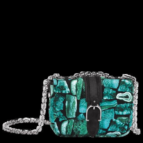 Hobo bag XS, D91 Emerald, hi-res