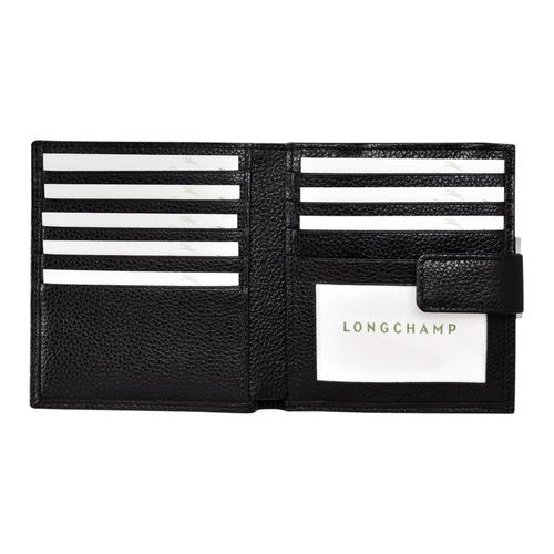 Compact wallet, 047 Black, hi-res